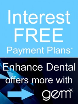 Interest Free Payment Plans at Enhance Dental